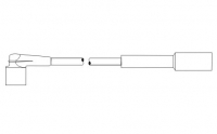 Комплект проводов зажигания (cиликон) (инжектор) (PS609) ВАЗ 2108-2115, 2121, 21213, 21214, 21215 SCT