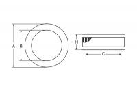 Фильтр воздушный (SB2026) FIAT, LANCIA, ZASTAVA SCT