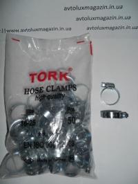 Хомут червячный 16 - 25 мм (уп. - 50 шт.) TORK