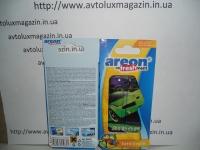 Ароматизатор Гелевый Машинки на листе TUTTI FRUTTI AREON