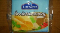 Сыр плавленный сметанковый/кремовый 130г. (в 1 уп. 8 шт.) LACTIMA