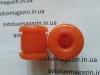 Втулка стойки переднего стабилизатора верхняя (яйца) (2108-29060Р) ВАЗ 2108-21099, 2110-2115 ПОЛИУРЕТАН