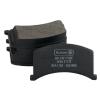 Колодка дискового тормоза передняя (BP-ZA1102F) (нов. обр. и ст. обр.) ЗАЗ 1102-1105 AURORA