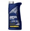 Diesel Extra 10W-40 API CH-4/SL (выберите объём: 1л, 5л, 7л, 10л, 20л, 60л) MANNOL