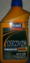 Моторное масло TURBOSYNT DIESEL SAE 10W-40 CF-4/SG 1 л. YUKO
