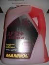 Антифриз (MN4012-5) AF12+ -40°C Longlife розовый 5 л. MANNOL