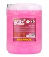 Антифриз (MN4012-10) AF12+ -40°C LONGLIFE/ДОЛГАЯ ЖИЗНЬ готовый раствор красный 10 л. MANNOL