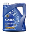 Моторное масло CLASSIC 10W-40 API SN/CH-4 (выберите объём: 1л, 3л, 4л, 5л, 7л, 10л, 20л, 60л) MANNOL