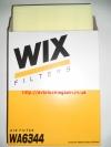 Фильтр воздушный (WA6344) VOLKSWAGEN: CARAVELLE (T4), TRANSPORTER (T4) WIX-FILTRON