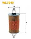 Масляный фильтр (WL7043) OPEL, BMW WIX-FILTRON