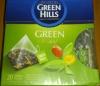 Чай зеленый в треугольных пакетиках (20 пак. 34г.) Pearl GREEN HILLS