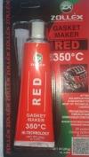 Герметик прокладок красный 85 г. ZOLLEX