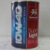 Моторное масло SUPER LIGHT SAE 10W-40 (жерсть) 1 л. WOLVER